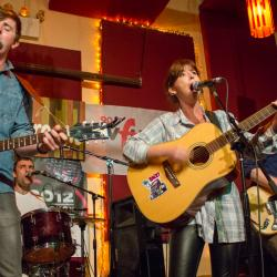 Check out sights and sounds of the WFUV/Alternate Side CMJ showcase, including video of Dublin's Little Green Cars in their NYC debut.