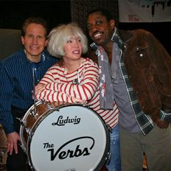 Monday at 9pm on Words and Music, Dennis Elsas talks with The Verbs: songwriter Meegan Voss and her husband, drummer Steve Jordan.
