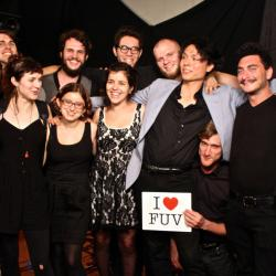 16 piece band, Mother Falcon perform live on WFUV