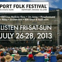 Today from Noon to 8pm, hear the sounds of the Newport Folk Festival on FUV. Watch video here.