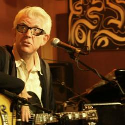 Nick Lowe session and interview Tuesday night at 9pm - plus he's joining us for the Holiday Cheer for FUV show.