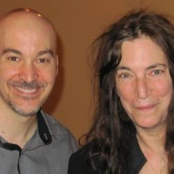 FUV's Eric Holland with Patti Smith