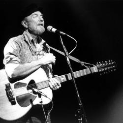 "On tomorrow's ""Sunday Breakfast"" at 8, John Platt honors Pete Seeger who would have turned 95 today."