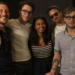 It's FUV Live with Portugal. The Man and host, Alisa Ali - tonight at 9. See video here.