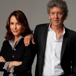 """Tonight at 9pm on Words and Music: Author Mary Karr and songwriter Rodney Crowell collaborate as """"Kin"""" on a new album. Check out video here."""