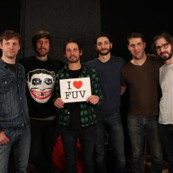 Hear an FUV Live session with the Sam Roberts Band tonight at 9.