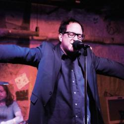 FUV Live with The Hold Steady (photo by Gus Philippas/WFUV)
