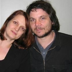Jeff Tweedy with Claudia Marshall
