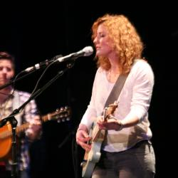 Kathleen Edwards at Tarrytown Music Hall (photo by Laura Fedele/WFUV)