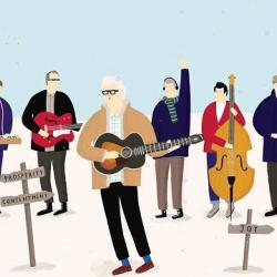 Support WFUV today & get a song from Nick Lowe.