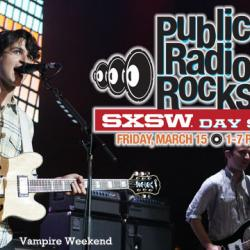Check in with Team FUV @ SXSW here, and listen in this afternoon for our biggest SXSW showcase yet - with Vampire Weekend, Dawes & more.