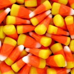 Mound of candy corn