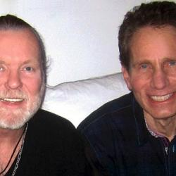 Gregg Allman with Dennis Elsas (photo courtesy of Dennis Elsas)