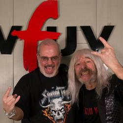 Derek Smalls with Darren Devivo at WFUV