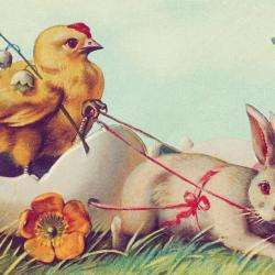 A vintage Easter (photo courtesy of Pixabay)