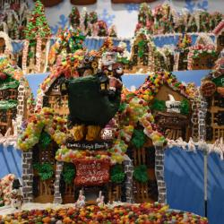 Guiness World Record gingerbread village