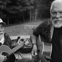 John Hurlbut and Jorma Kaukonen (Photo by Scotty Hall)