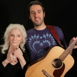 Judy Collins & Ari Hest at WFUV