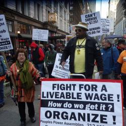 New York City Labor Day Parade Features Non-Union Workers for the First Time