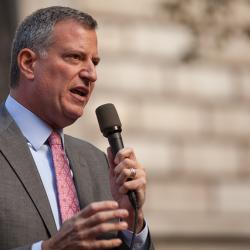 NYC's de Blasio to Give 1st State of City speech