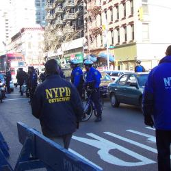 Arrest Stats Point to New York Police Department Slowdown