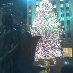 Rockefeller Tree Lighting Tonight