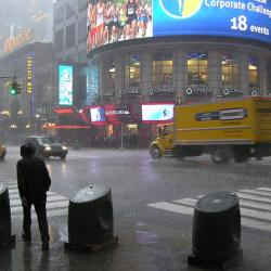 Snow Storm Blows into New York