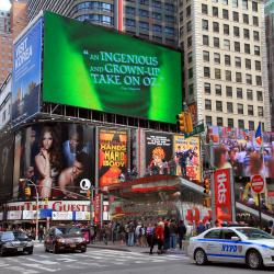 Times Square's Biggest and Most Expensive Digital Billboard Is Set to Shine