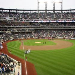 Empty Seats at Citi Field and Yankee Stadium