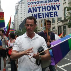 UPDATED: Weiner Criticized For Silence Amid Anti-Gay Slurs