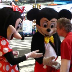 NYC Officials Want to Crack Down on Times-Square-Characters