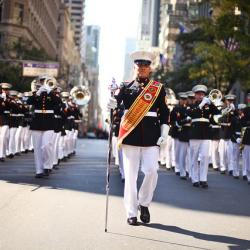 At Columbus Day Parade, Focus is on Politics