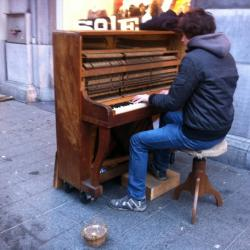 Outdoor Pianos Returning to NYC