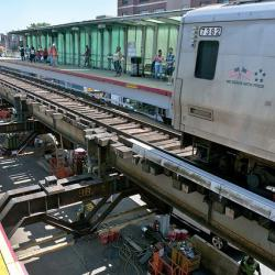LIRR Service Returns to Hard-Hit Long Beach