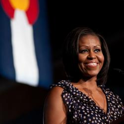 Michelle Obama Pushes Kids to Get Healthy