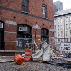 South Street Seaport Six Months After Sandy