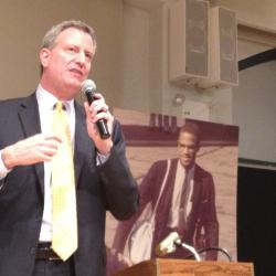 New Poll Confirms Strong Lead for de Blasio