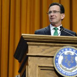 Governor Malloy Gives State of the State Address in Connecticut
