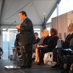 New Jersey Governor Christie on Gun Control and Video Games