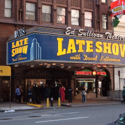 """New York City Mayor Bill de Blasio Urges CBS to Keep """"The Late Show"""" in the Big Apple"""