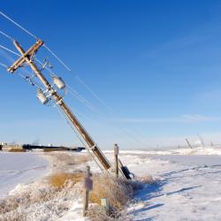 Snowstorm Deals Setback to NJ Power Restorations