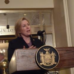 Sen. Gillibrand Touts Veteran Education for Jobs