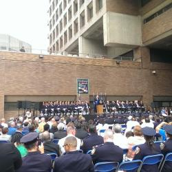 Members of the NYPD Honored at Medal Day Ceremony