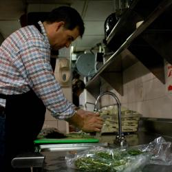 Strike a Chord: Renowned Chef Brings Five-Star Service to New York Soup Kitchen