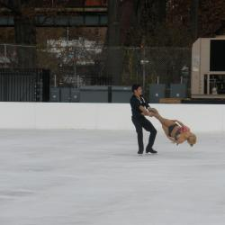 New Ice Skating Rink Opens In Bronx