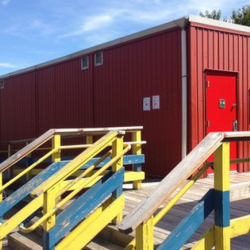 Temporary Classrooms Getting Replaced