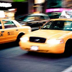 Brooklyn Taxi Drivers Have Gas Cans in Back Seats