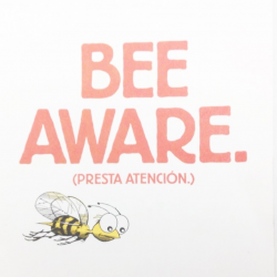 "Westchester launches ""Bee-Aware"" Bus Campaign"