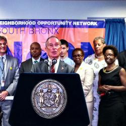 Bloomberg Opens A New Kind Of Probation Office In The South Bronx