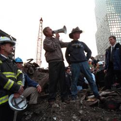 Bullhorn Used by Bush Goes to Sept. 11 Museum